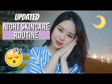 Updated Night Skincare Routine Indonesia 2018 | Oily & Acne Prone Skin | Stella Amabel